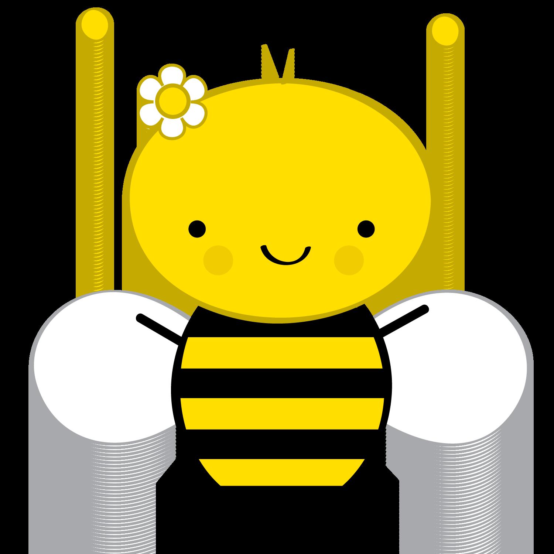 Znalezione obrazy dla zapytania pszczółka clipart
