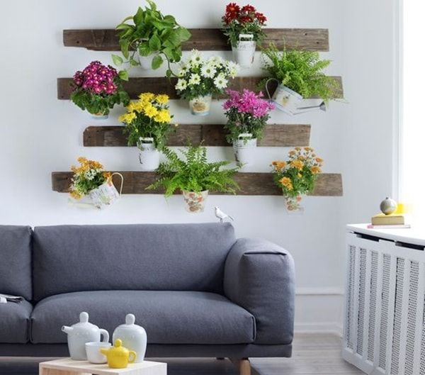 ideas originales para decorar interiores con plantas