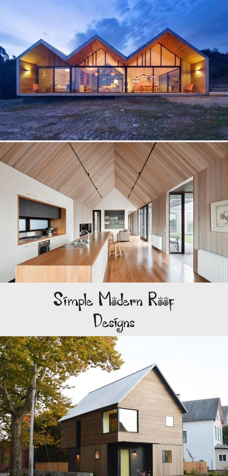 Simple Shed Roof House With Garage Designs Simple Modern Roof Designs Modernarchitectureinteriorart Modern Modern Roof Design Roof Design Gable Roof Design