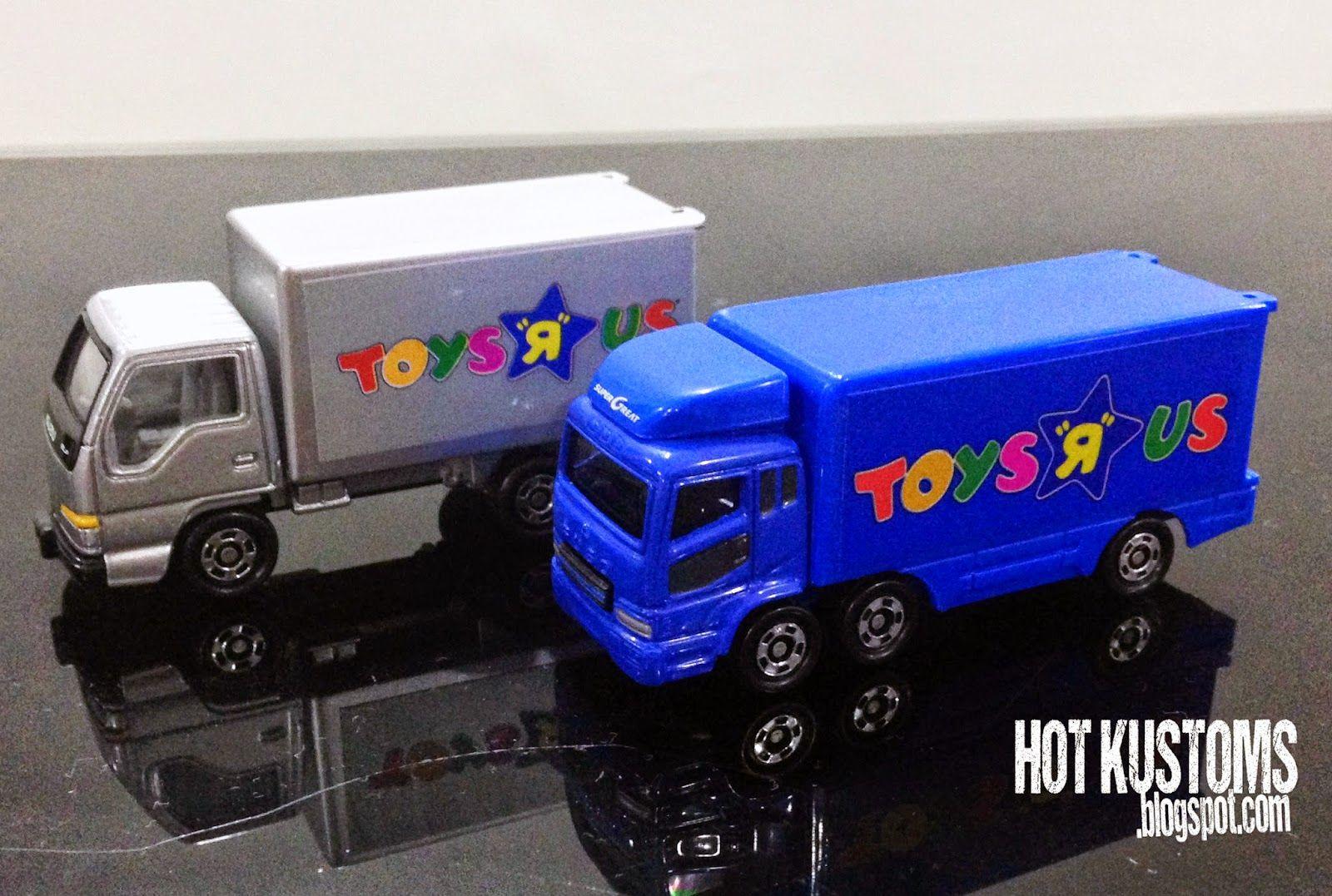 Toys Are Us Trucks : Tomy tomica mitsubishi fuso and isuzu elf toys r us trucks