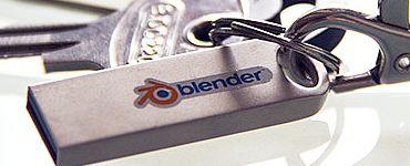 Blender download to design 3-D printing