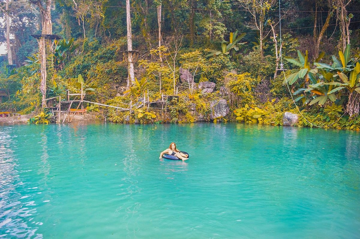 Visit Blue Lagoon Three In Vang Vieng Laos Southeast Asia Travel Asia Travel Asia Destinations