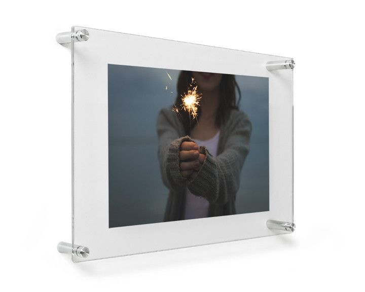Double Panel 12 X 15 Wall Frame For 8x10 Photos Or 85x11 Art Dr