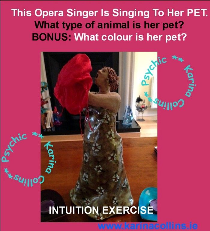 Singer Intuition Test | SPIRITUAL STUFF | Intuition, Exercise