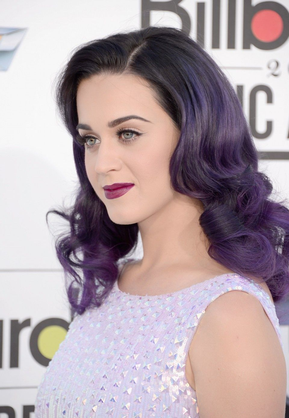 How To Pull Off Purple Hair Like Your Favorite Celebrity Purple Ombre Hair Hair Color Purple Ombre Hair Color