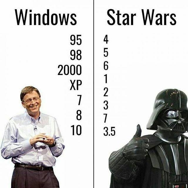 A Different Way To Count Follow 9gag 9gagmobile 9gag Starwars Windows Star Wars Memes Star Wars Star Wars Humor