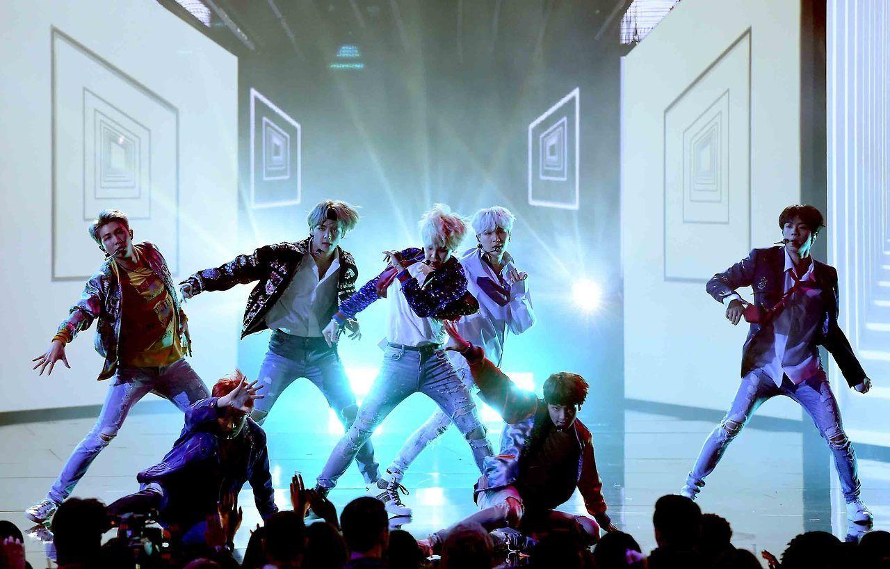 BTS AMAs 2017 American music awards, American music