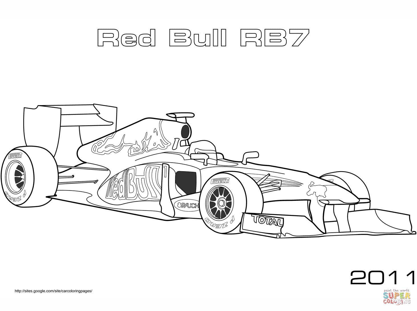 Dibujos Formula 1 Para Pintar