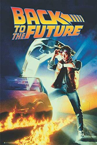 Back to The Future Official Movie Poster 24-by-36 Inches