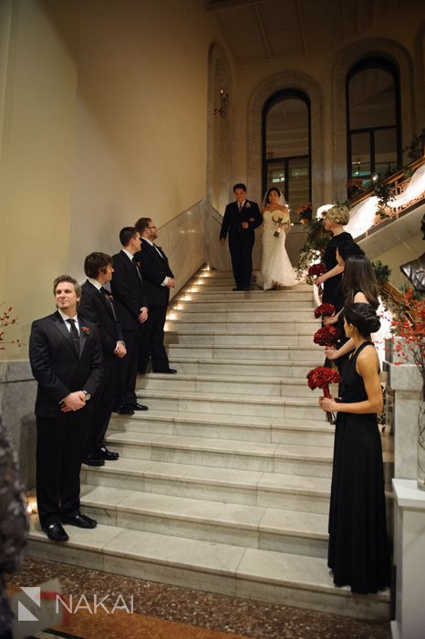Chicago Winter Wedding Photos Newberry Library Water Tower Destination Photographer Nakai Photography Blog