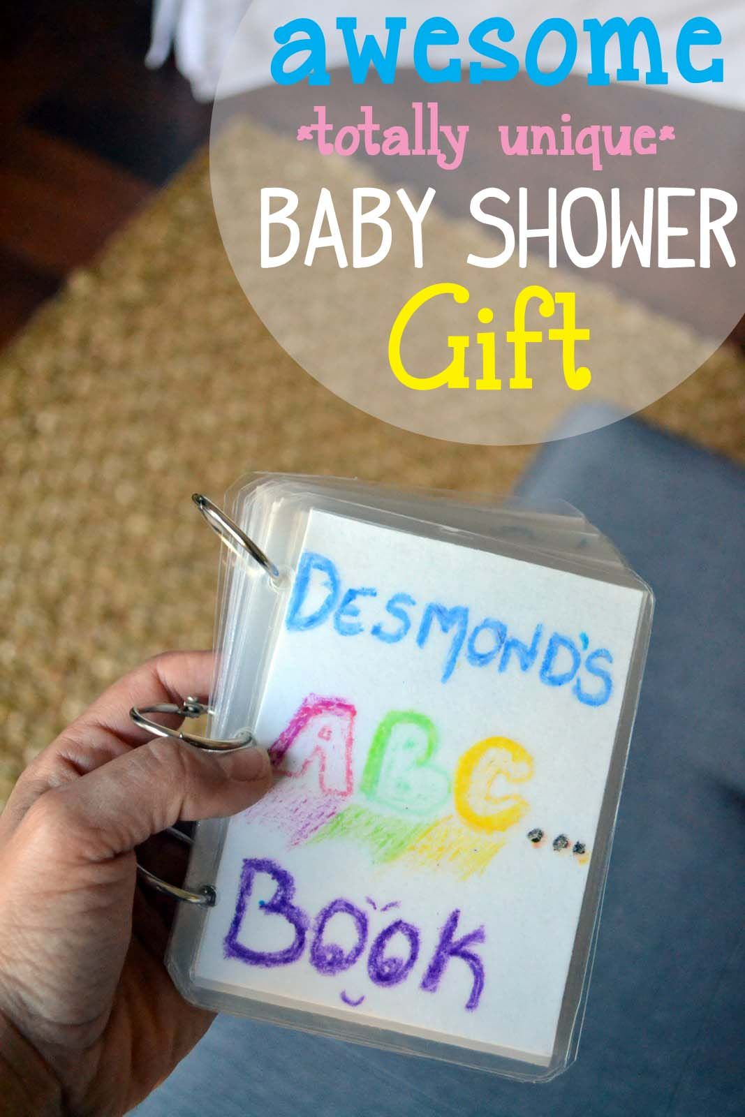 Awesome Sentimental Baby Shower Gift Have Guests Be Assigned A Letter Of The Alphabet At And Draw Something With That Then Collect To