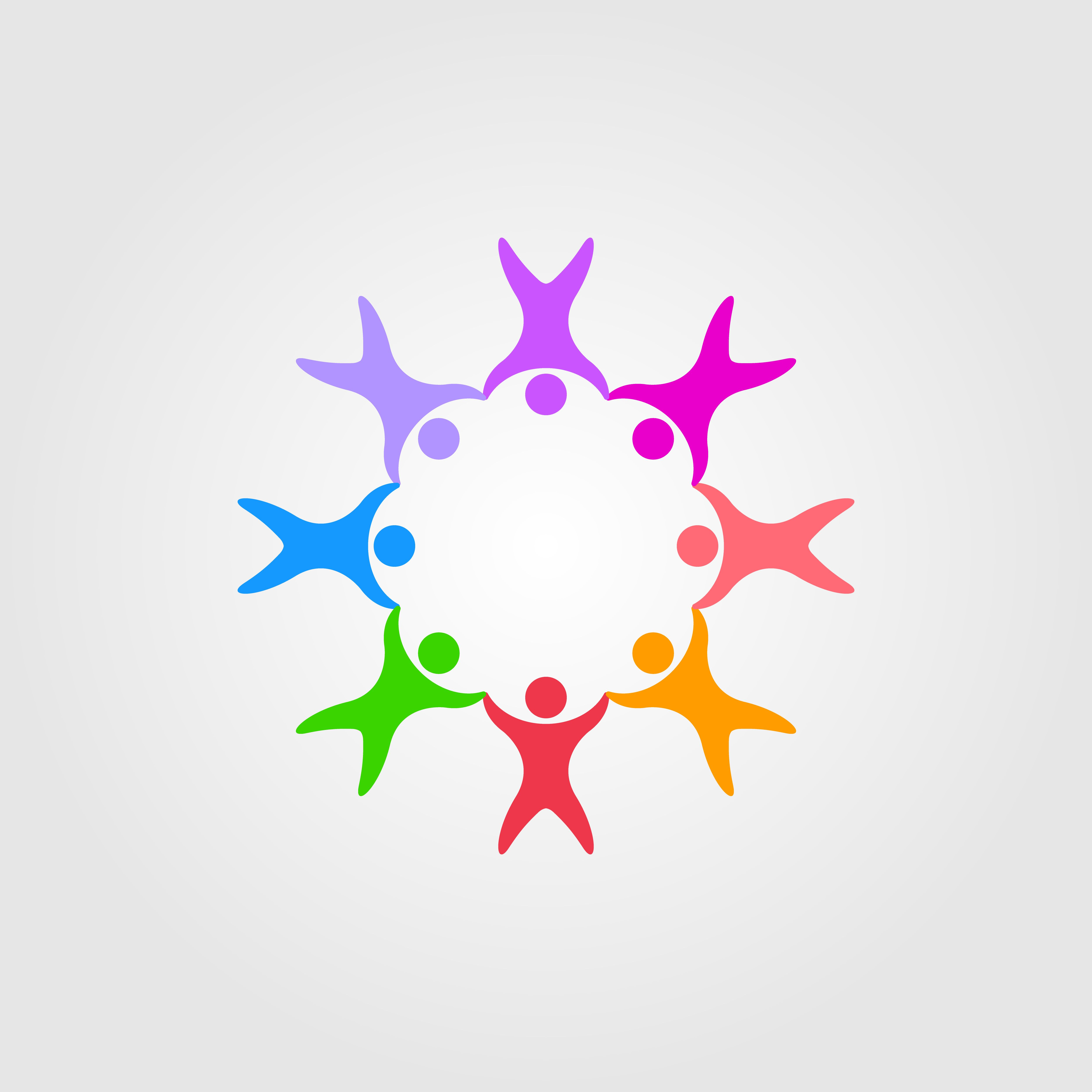 Circle People Family Together Human Unity Logo Vector By Linimasa Unity Logo Vector Logo Human Logo Design