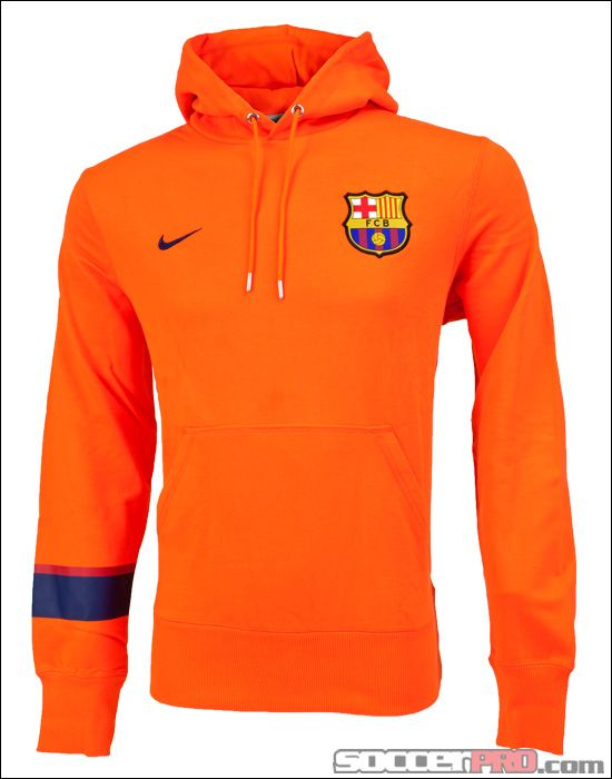 Nike Licensed Barcelona Core Hoody Safety Licensed Nike Soccer a554b6