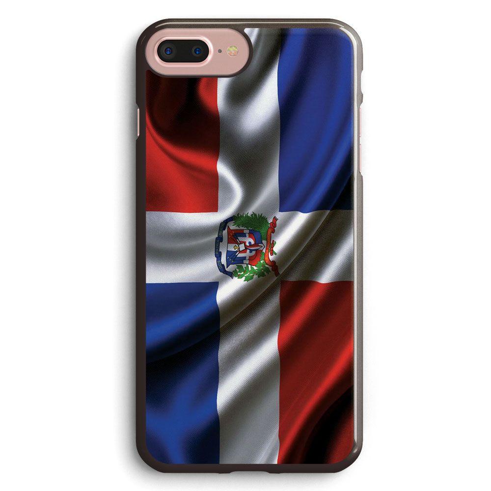 Dominican republic flag drop apple iphone 7 plus case