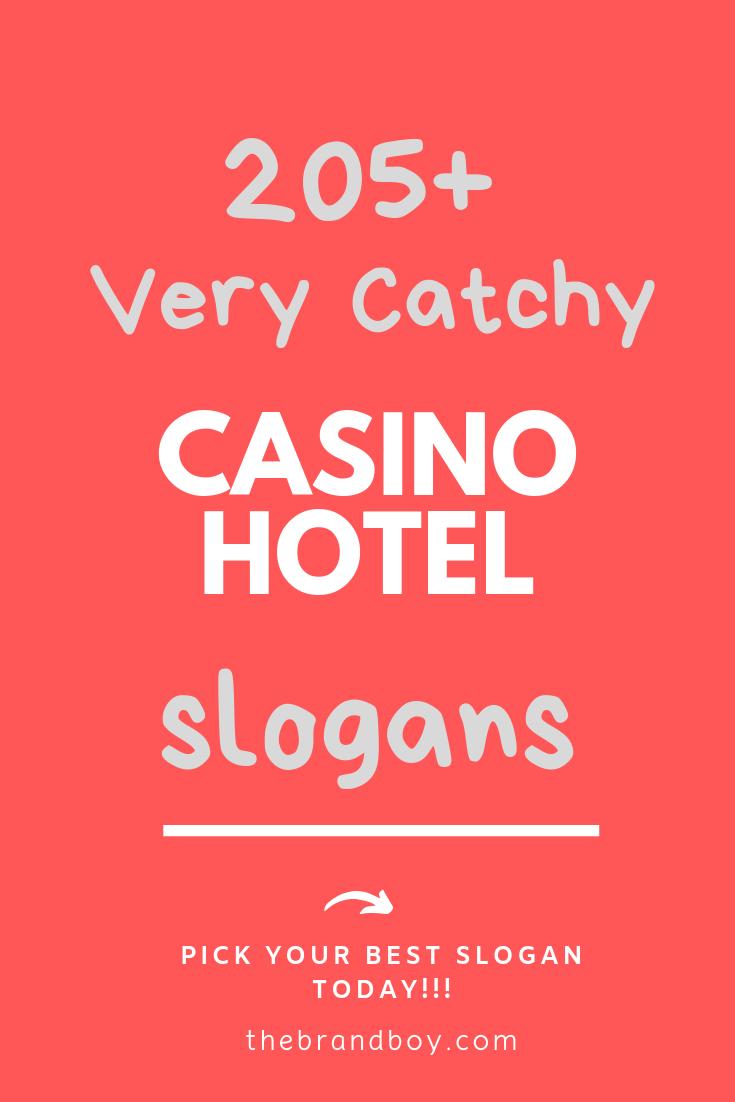 casino advertising slogans