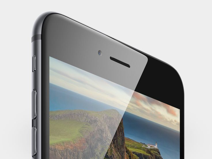 Both iPhone 6 models feature a new Retina HD display.