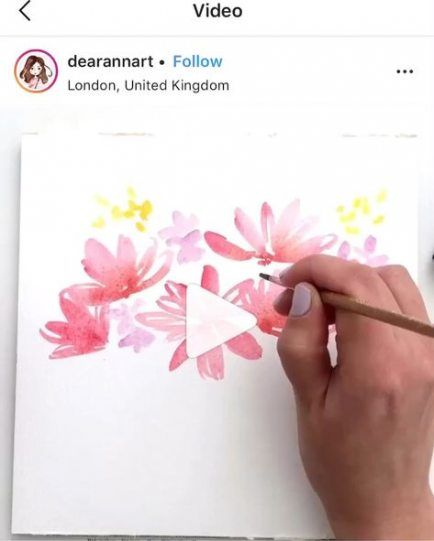 Landscaping Watercolor Flowers 30 Ideas For 2019 #flowers #landscaping