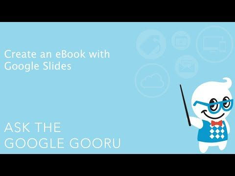 Create an eBook with Google Slides Googly Eyes (Google) Pinterest