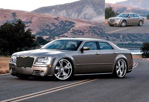 Chrysler 300 C On Foose Nitrous 20 Wheels In Gray With Images