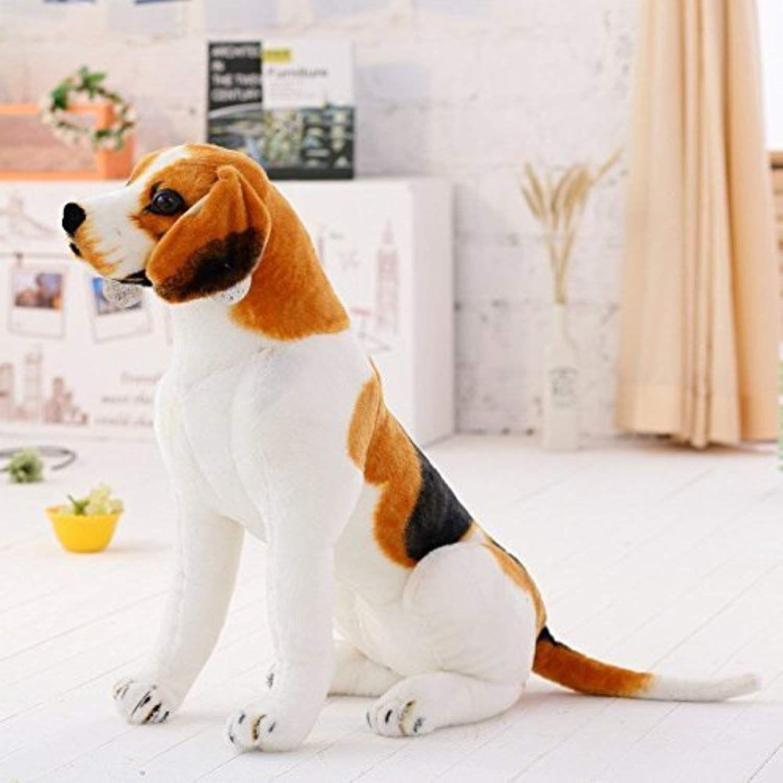 Well Marta Realistic Stuffed Animals Beagle Dog Plush Toys 21 6