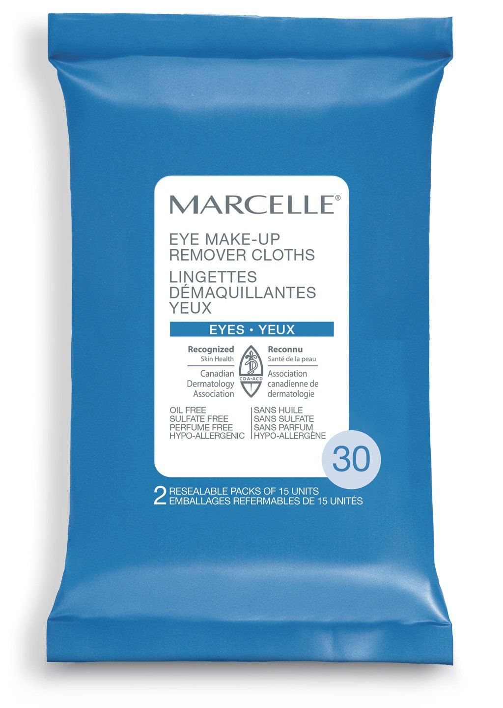 Marcelle Eye Makeup Remover Cloths 30 Count To view