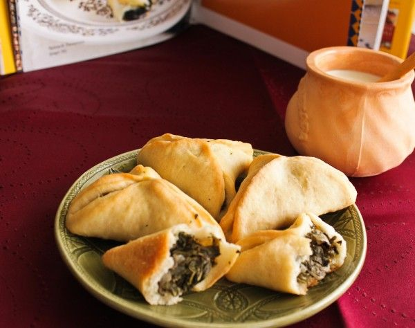 Spinach Turnovers