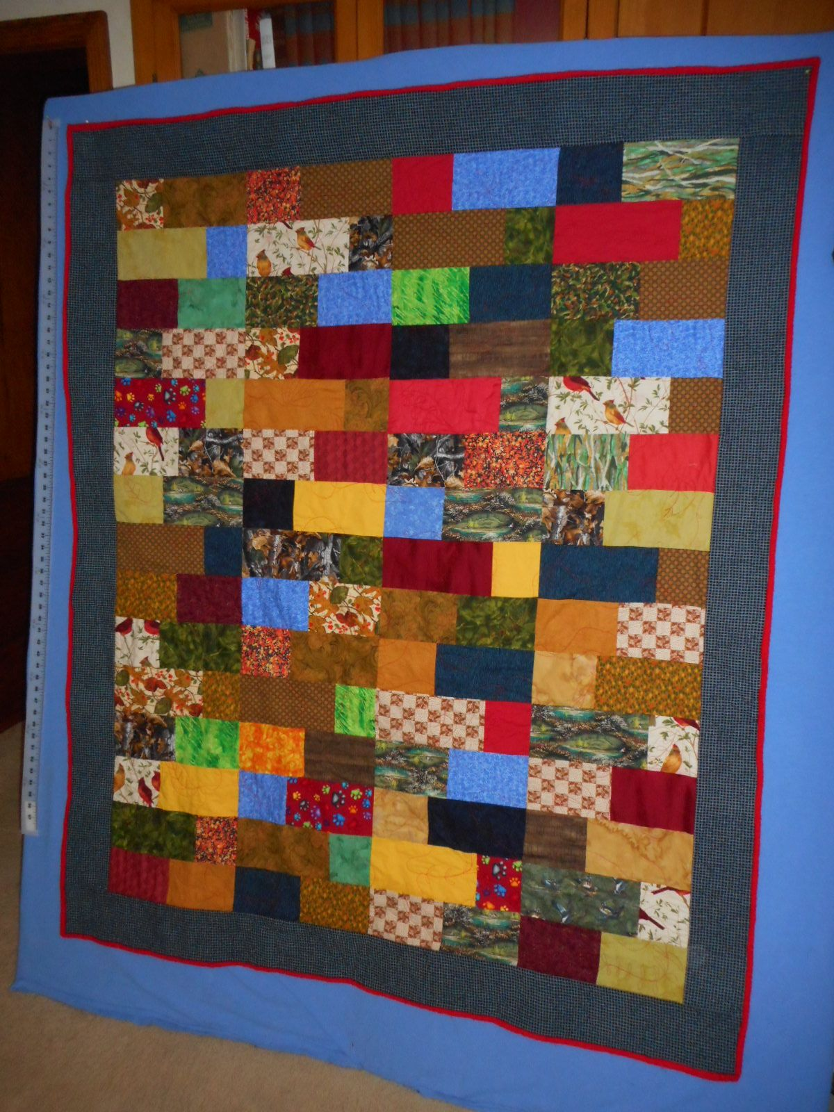 Linus #40 Second quilt done with same blocks as #39, just put ... : how to put together a quilt - Adamdwight.com