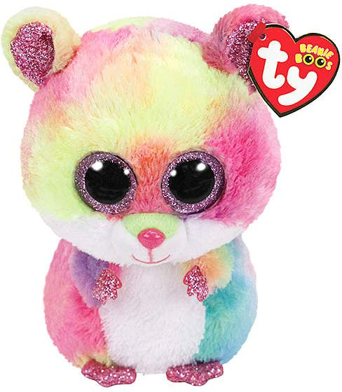 eeedfbed3fc Rodney the Hamster Beanie Boo Plush Toy  wide adorable Snuggle ...