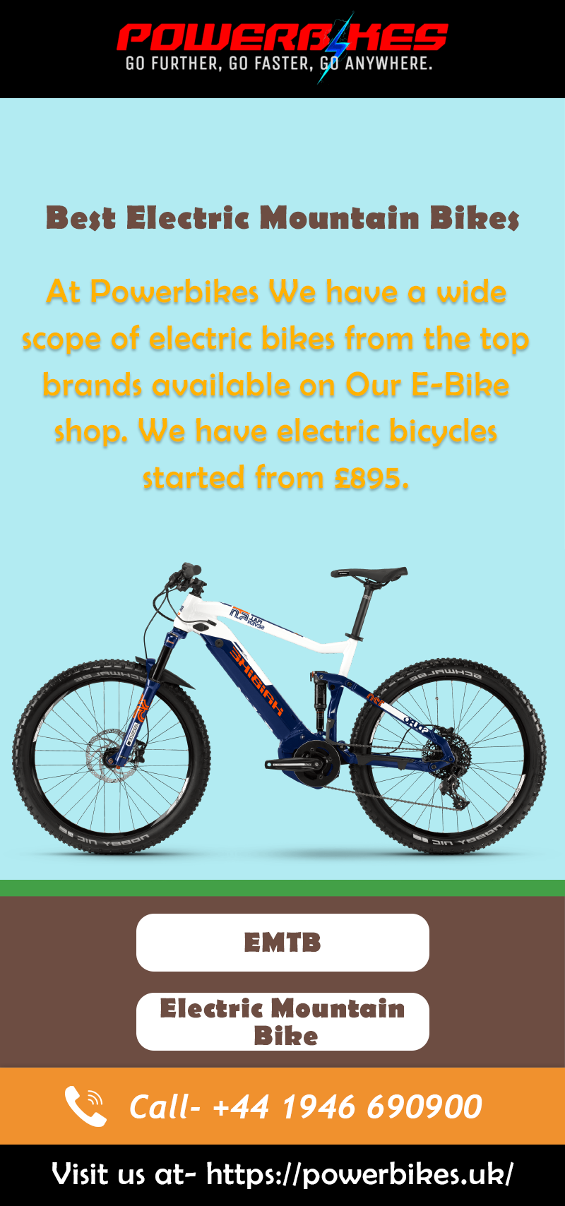 Electric Mountain Bike Opens Up More Opportunities One Other