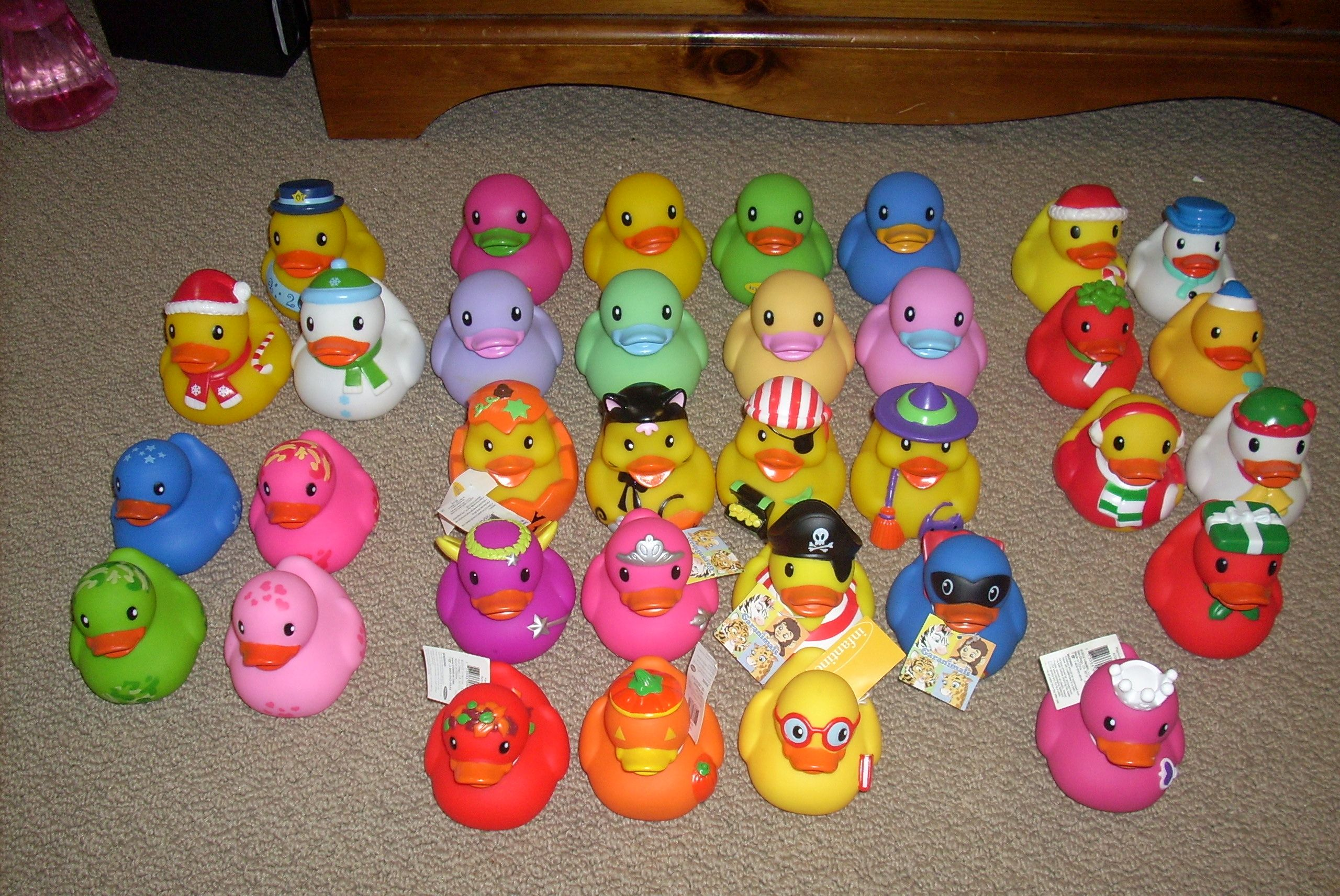Infantino & Garanimals ducks. I don\'t collect all of these - I pick ...