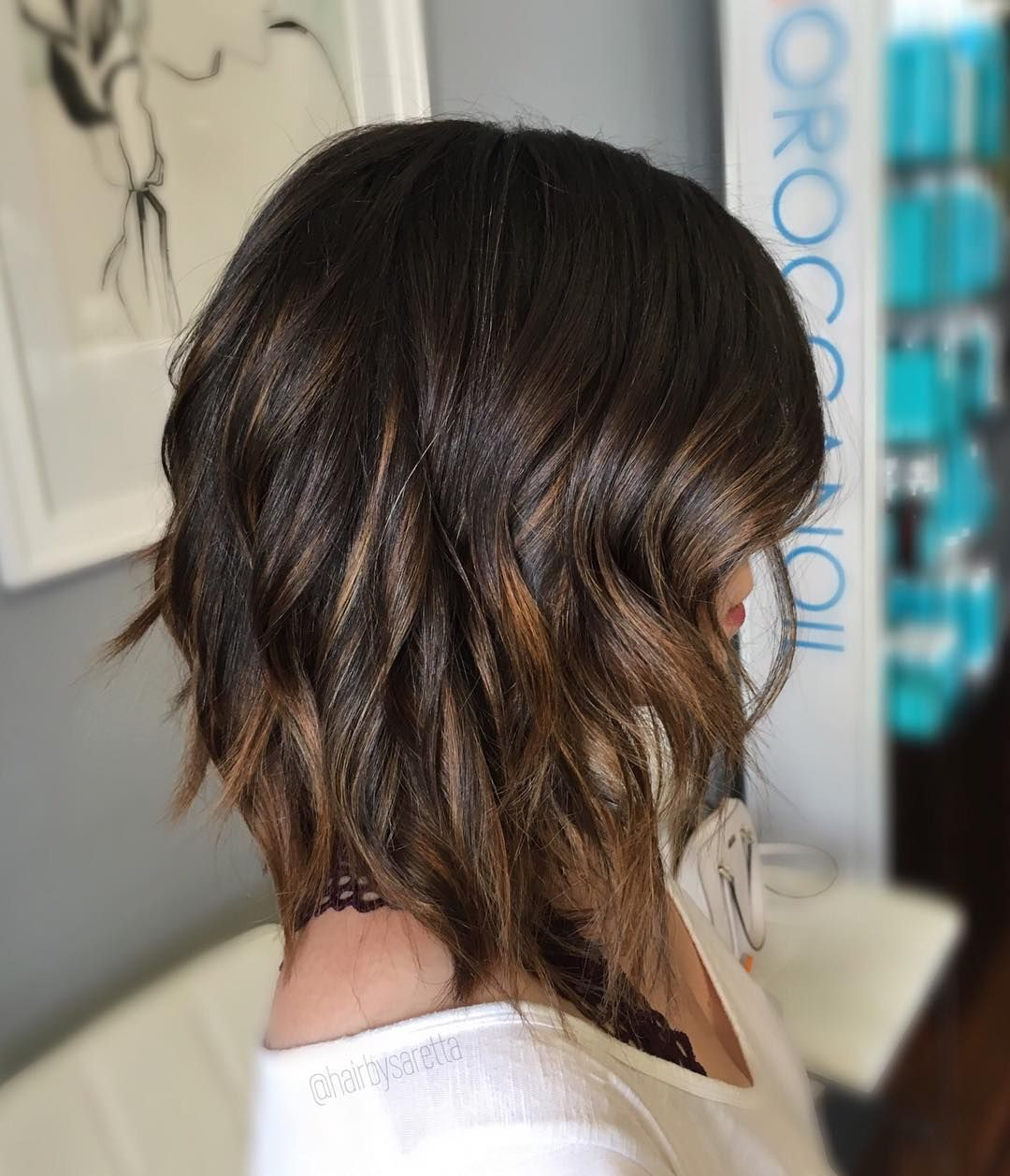 trendy designs for dark and light brown hair with highlights