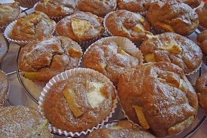 Apfel - Dinkel - Muffins von angimaus | Chefkoch