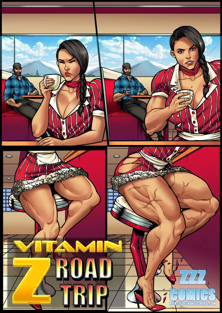 vitamin z road trip preview 2zzzcomics | bodybuilding artwork