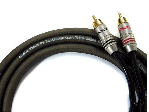 Krystal Kable 2 Channel 6m Twisted Pair Rca Cable 20 By Knukonceptz 19 99 The Krystal Kable Is One Of The Best Cables On The Mark Electronic Cables