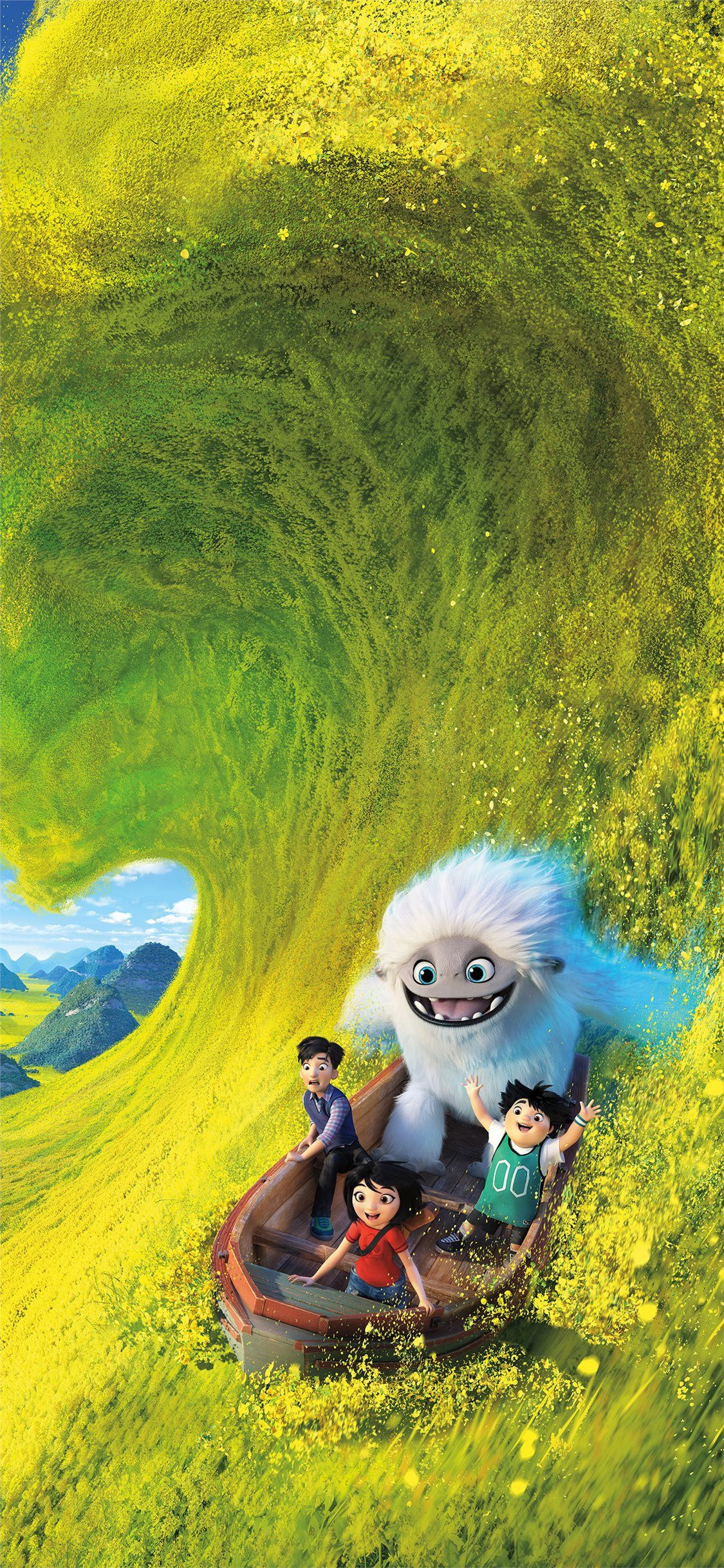 Free Download The Abominable 2019 Animated Movie 8k Wallpaper
