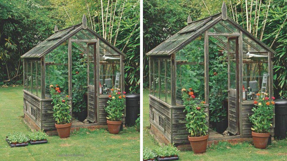10 jolies serres pour le jardin pinterest serre bois petite serre et serre. Black Bedroom Furniture Sets. Home Design Ideas