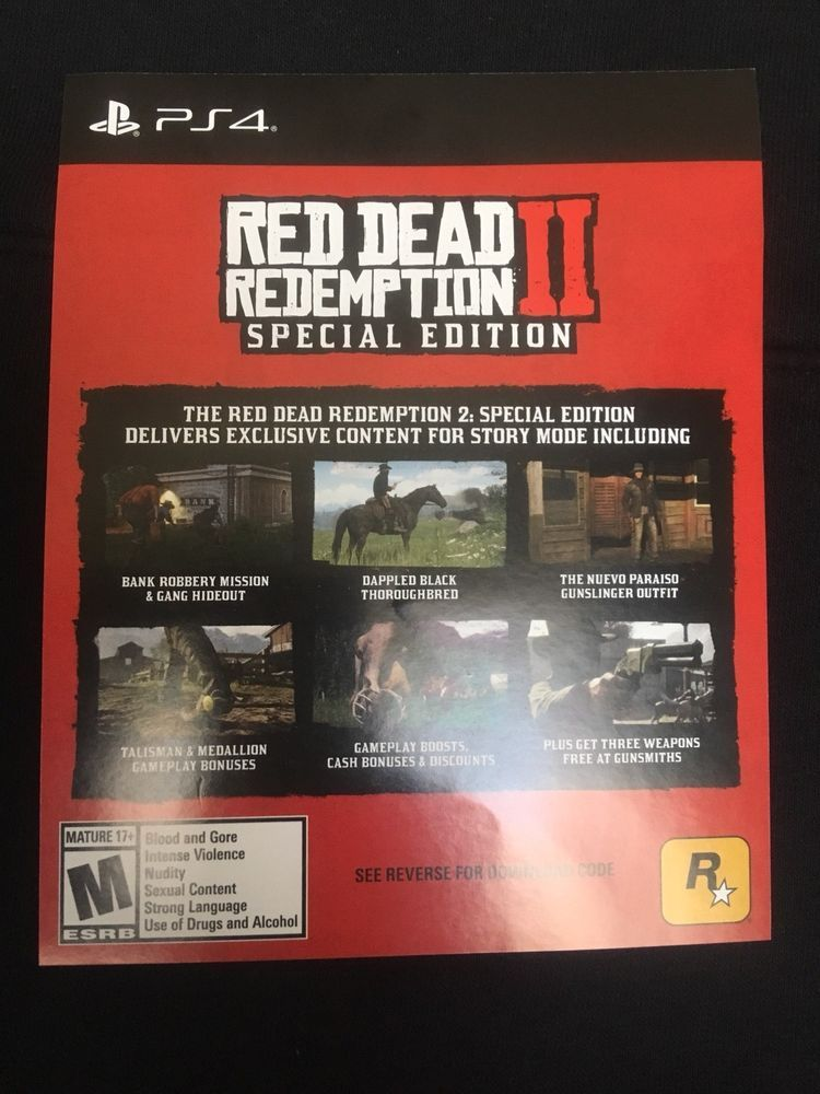 Ps4 Red Dead Redemption 2 Special Edition Game Add On Reddeadredemption Gaming Xboxone Red Dead Redemption Red Dead Redemption Ii Redemption