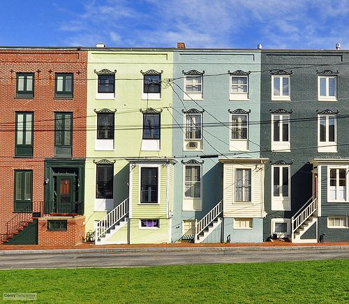 Stratton Place Row Houses Row House Conch House City Buildings