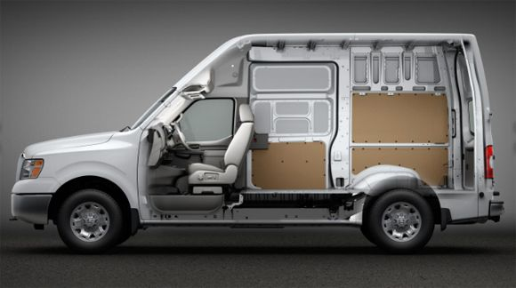 Nissan NV Cargo High Roof Nissan, Commercial vehicle