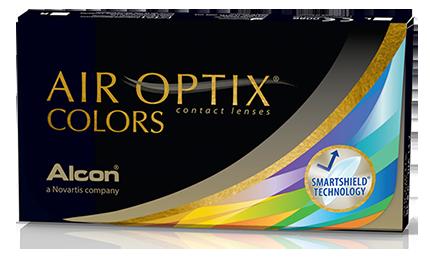 AIR OPTIX® COLORS contact lenses Contact lenses colored