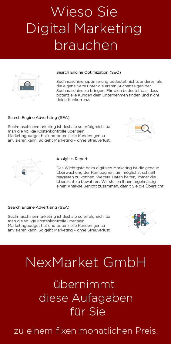 Pin by NexMarket on Unsere Services | Pinterest | Digital marketing ...