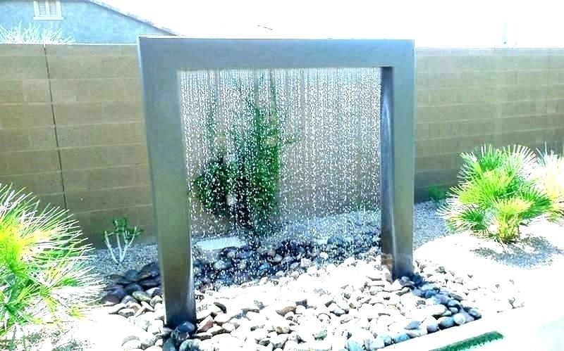Wall Waterfall Outdoor Wall Waterfall Small Backyard Water
