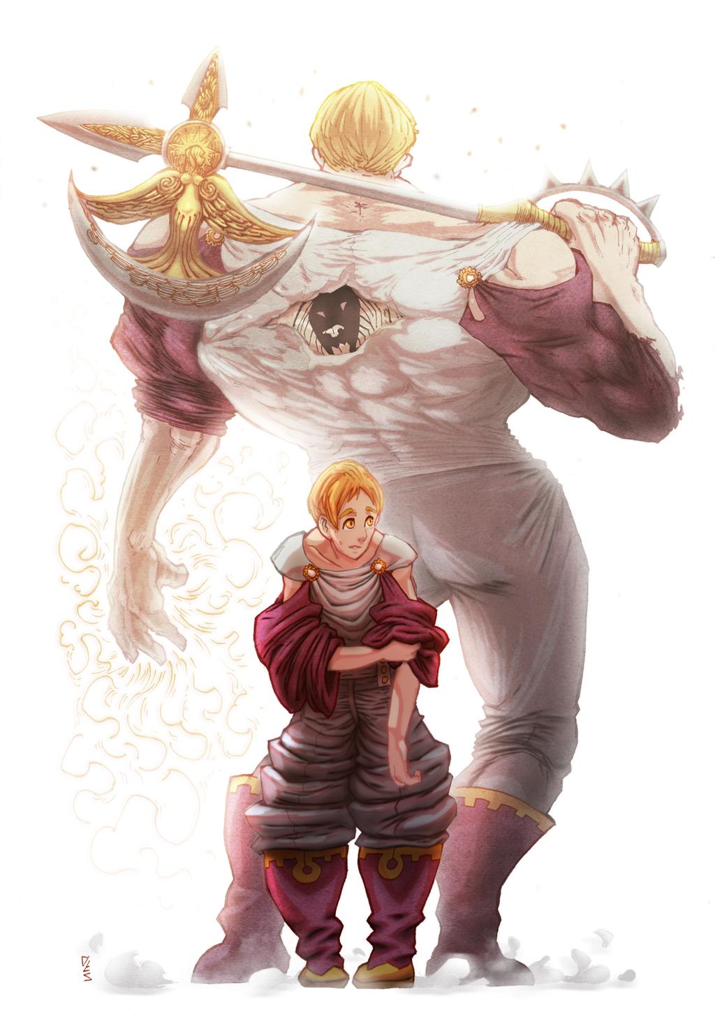 Escanor, Meilleur Personnage Du Manga !