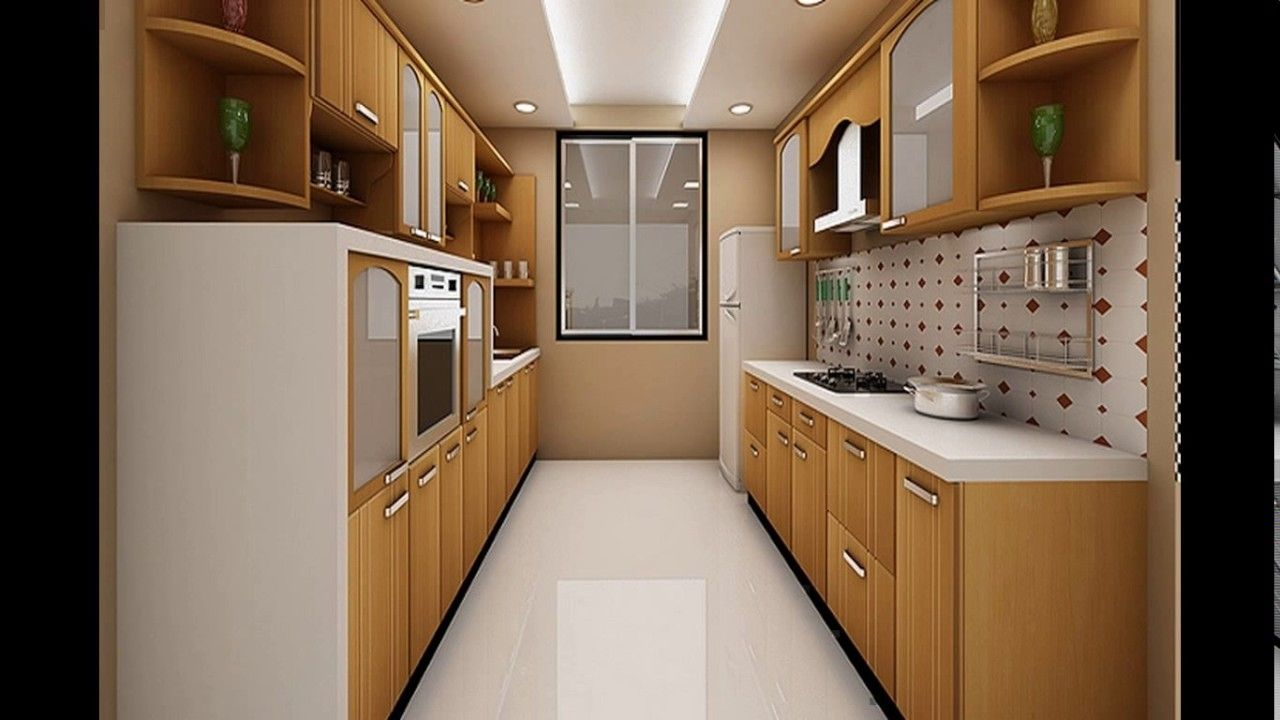 efficient kitchen design. Parallel Kitchen Designs For The Efficient Traffic
