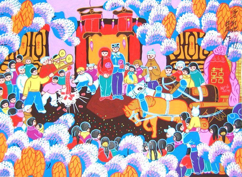 Pin by Stella Yam on Life Through Art Chinese folk art