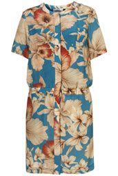 Floral Print Dress by Maarten Van Der Horst**