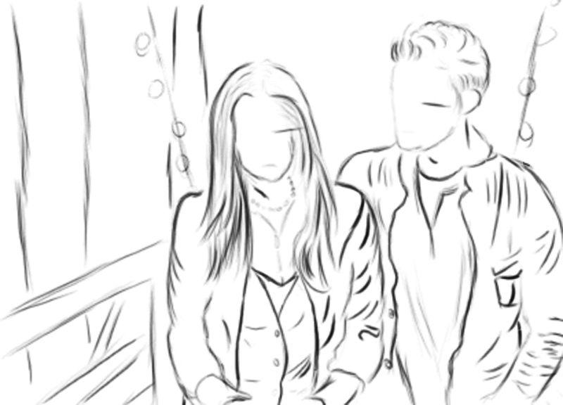 Stefan And Elena Vampire Diaries Coloring Pages Coloring Pages Cool Drawings Color
