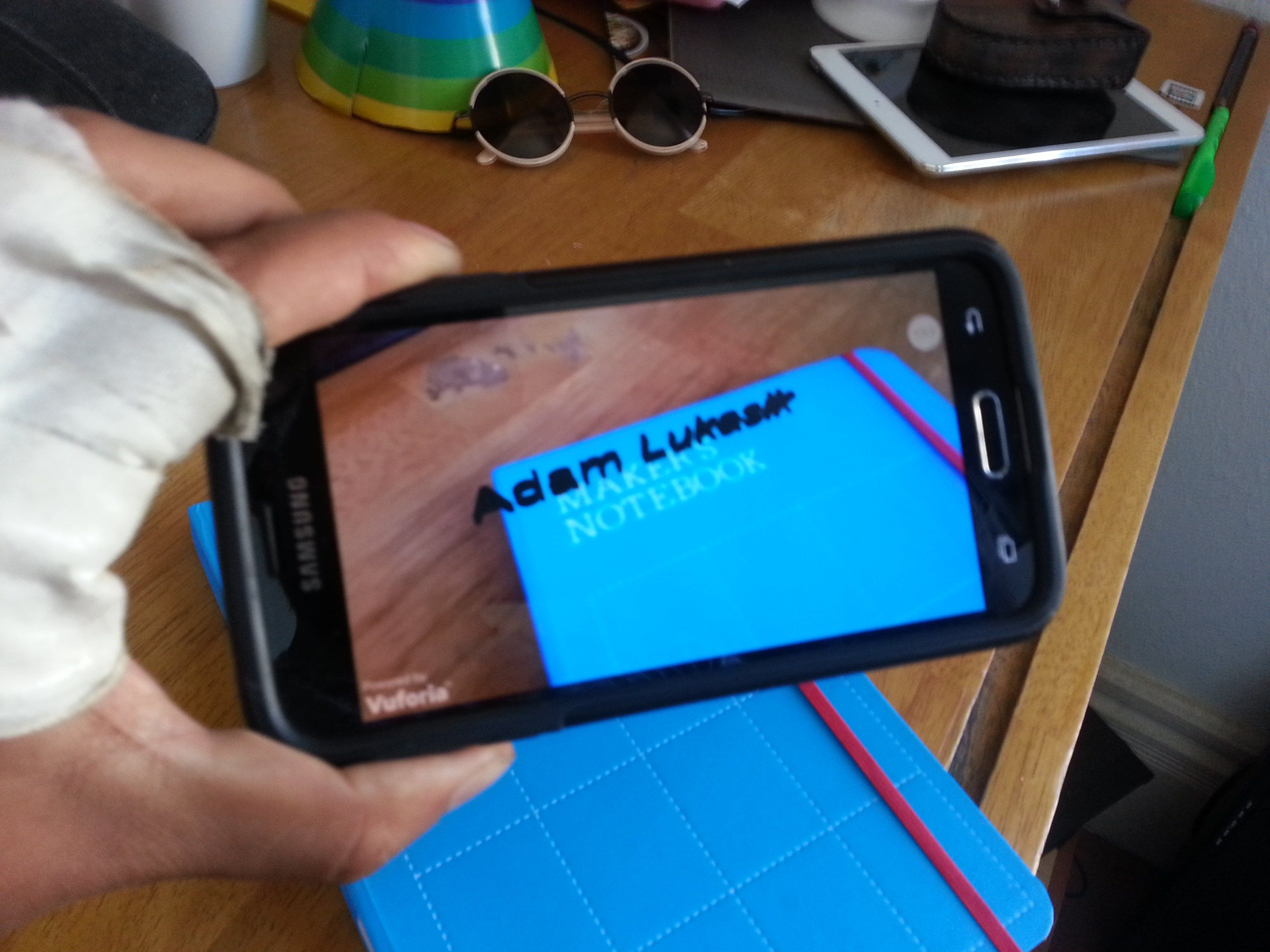 augmented reality with vuforia and unity