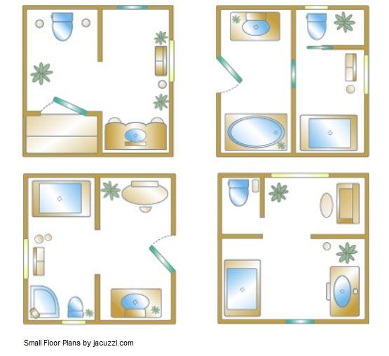 Small bathroom floor plan 60-100 square feet | Small ...