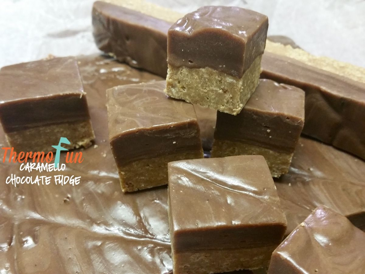 Check out Thermomix Caramello Chocolate Fudge. It's so easy to ...